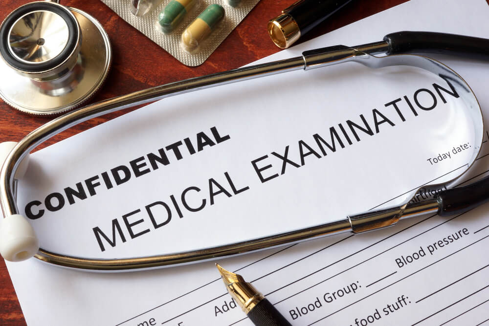 Confidential patient documentation
